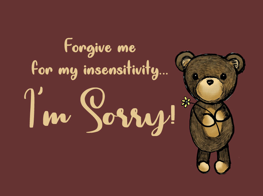 sorry message for friend