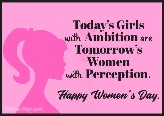 Inspirational Women's Day Wishes