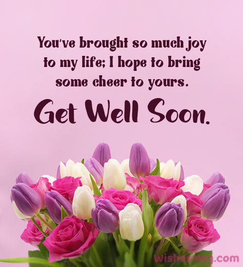 Inspirational get well soon quotes