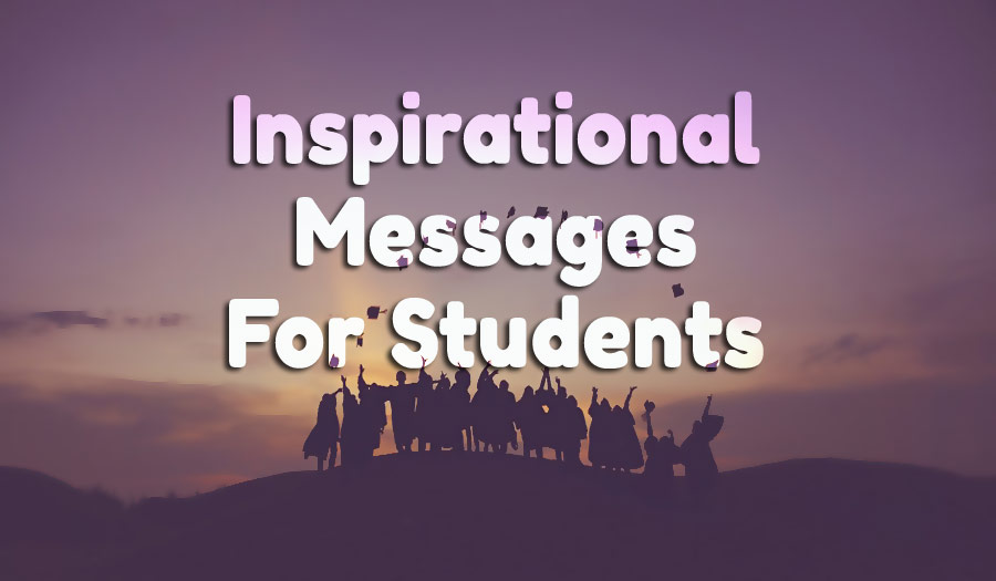 Inspirational Messages For Students Motivational Quotes WishesMsg Simple Inspirational Messages