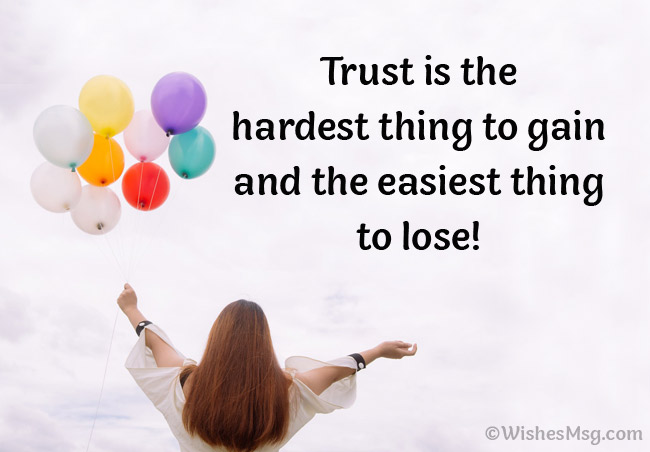 Messages About Trust