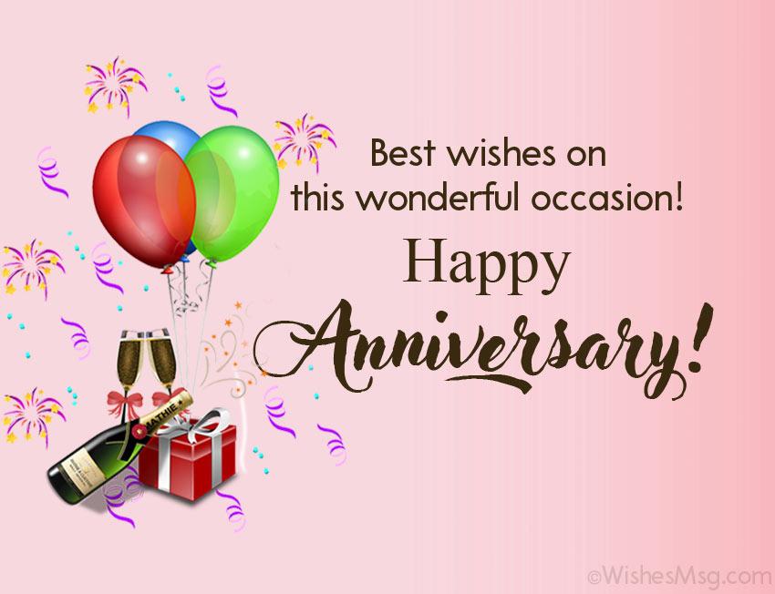 80 Wedding Anniversary Wishes For Friends Wishesmsg