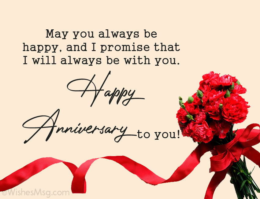 Wedding Anniversary Wishes Quotes In English Best Wishes