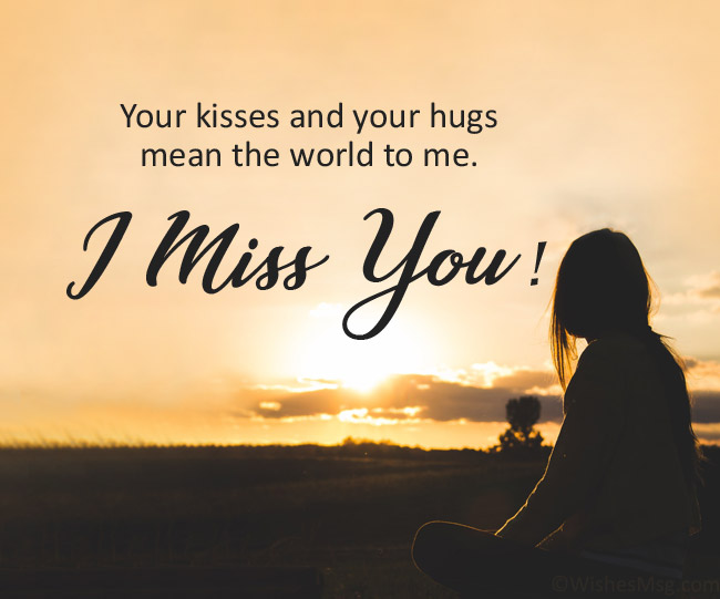 Missing You Text for Him