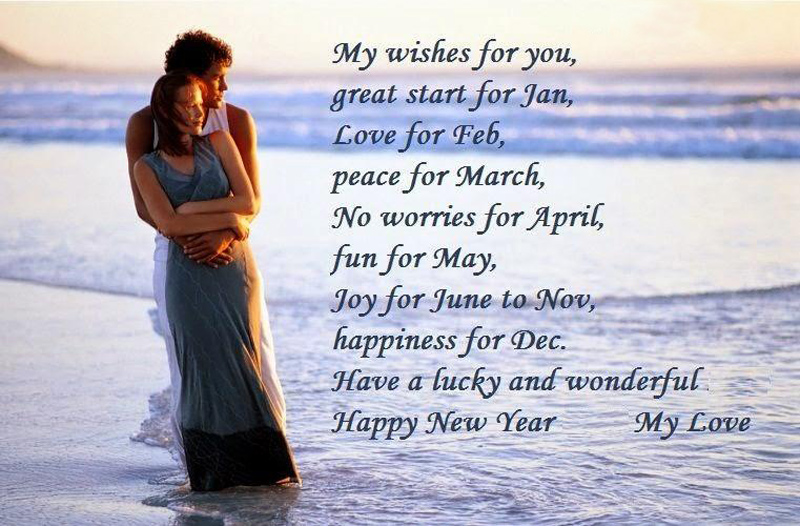 New Year Wish Quotes For Lover: Romantic Happy New Year Messages For Boyfriend