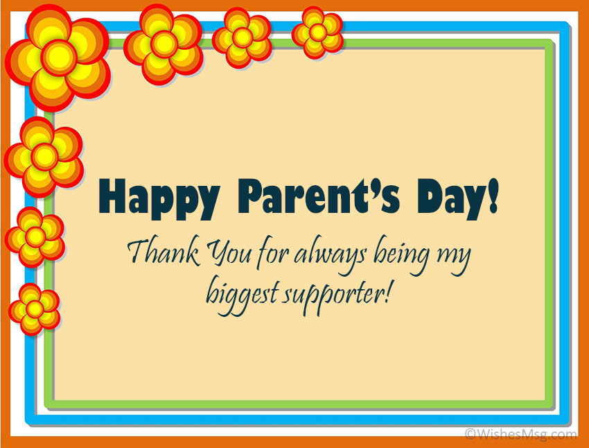 Parents Day Card Wording