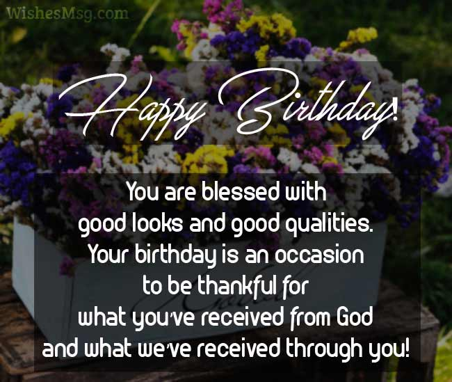 60 Religious Birthday Wishes Messages And Quotes