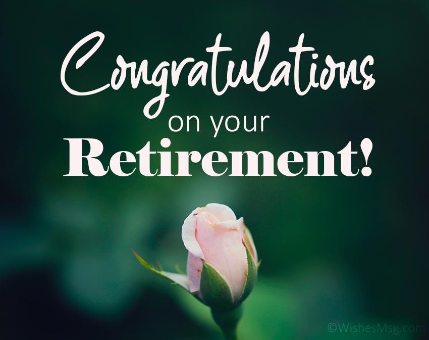 Retirement Congratulation Message for Boss