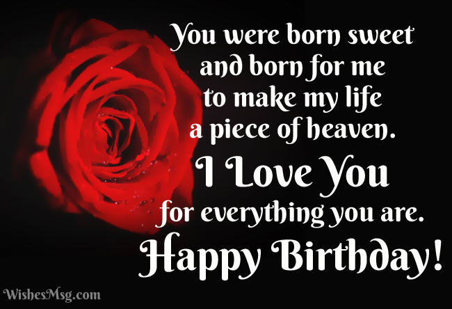 Your Smile Is Sweeter Than The Sweetest Cake In World Thanks For Being Into My Life Happy Birthday To Sweet Girlfriend