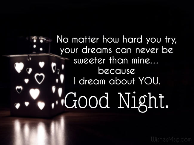 Good Night Love Messages - Sleep Well Wishes - WishesMsg
