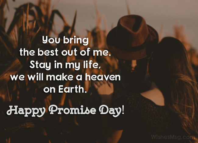 Romantic Promise Day