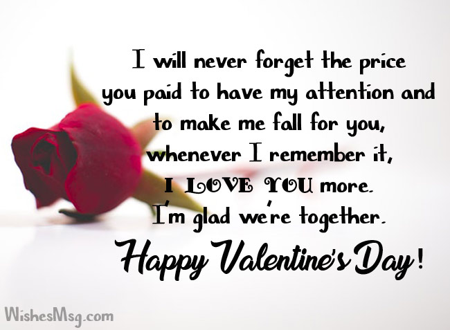 Valentines Day Wishes For Husband Cute Romantic Messages