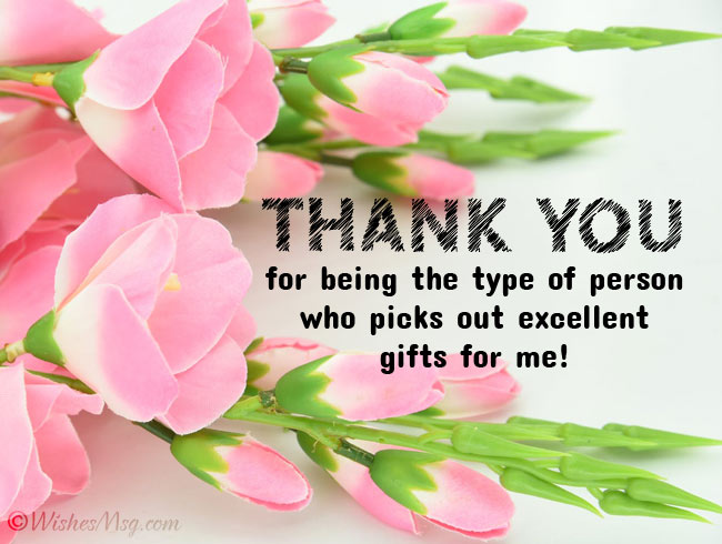 Heartfelt Thank You Messages for Gift
