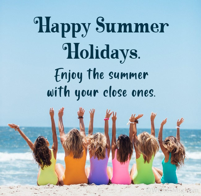 Summer Vacation Wishes and Quotes | WishesMsg