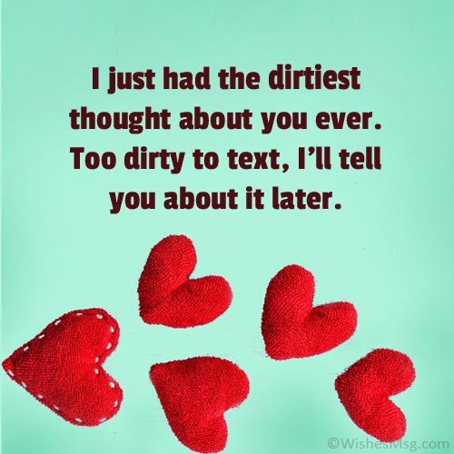 Sweet Dirty Messages For Him