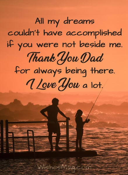I Love You Dad Quotes Love Messages for Dad : I Love You Dad Quotes   WishesMsg I Love You Dad Quotes