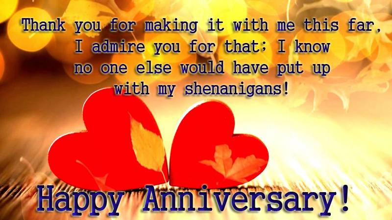 Sweet anniversary wishes for boyfriend