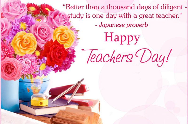 Happy teachers day wishes messages status 2018 wishesmsg teachers day greeting card messages image m4hsunfo