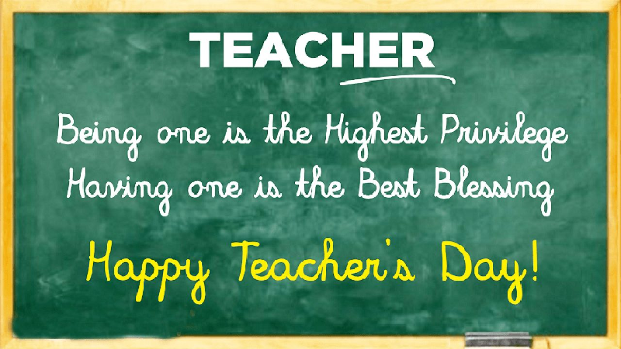 130+ Happy Teachers Day Wishes, Messages & Quotes 2019