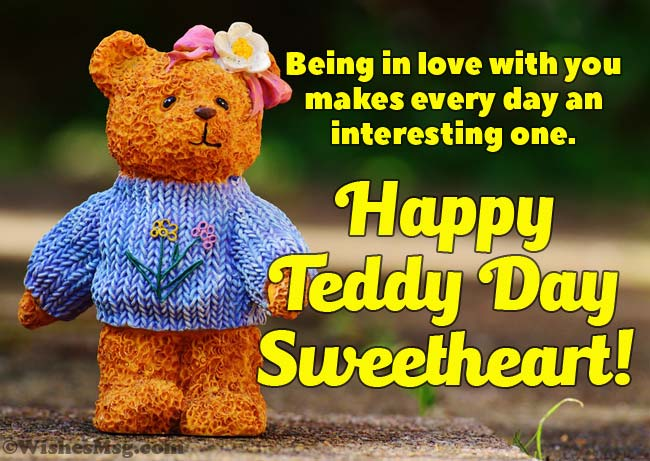 Teddy Day wishes for Her