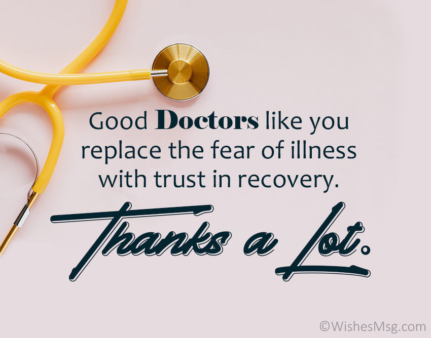 Thank-You-Doctor-Messages