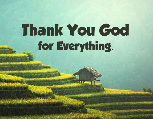 Thank You God for Everything