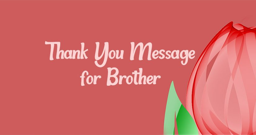 Thank You Brother Quotes