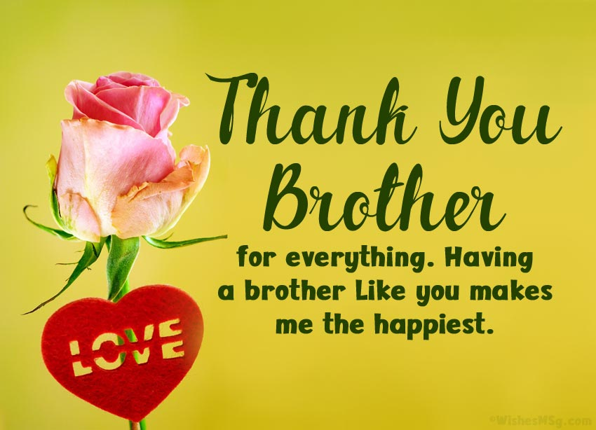 Thank You Brother