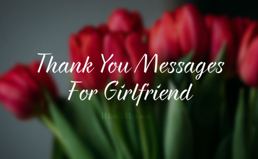 Appreciation Messages for Girlfriend