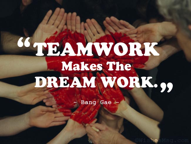 Appreciation Quotes for Teamwork