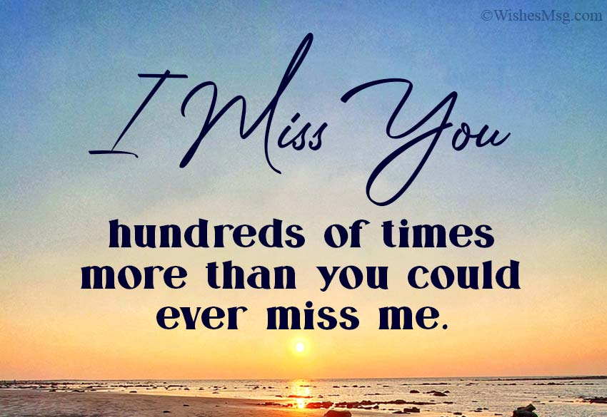 Missing Someone Special Messages