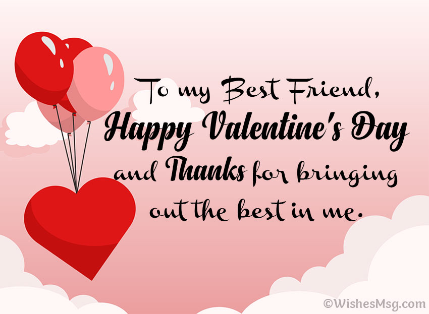Valentine Messages for Best Friend