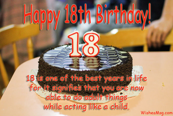 18th birthday wishes birthday messages for 18 year olds wishesmsg very best 18th birthday wishes and messages m4hsunfo