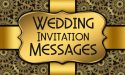 30+ Wedding Invitation Messages and Wording Ideas