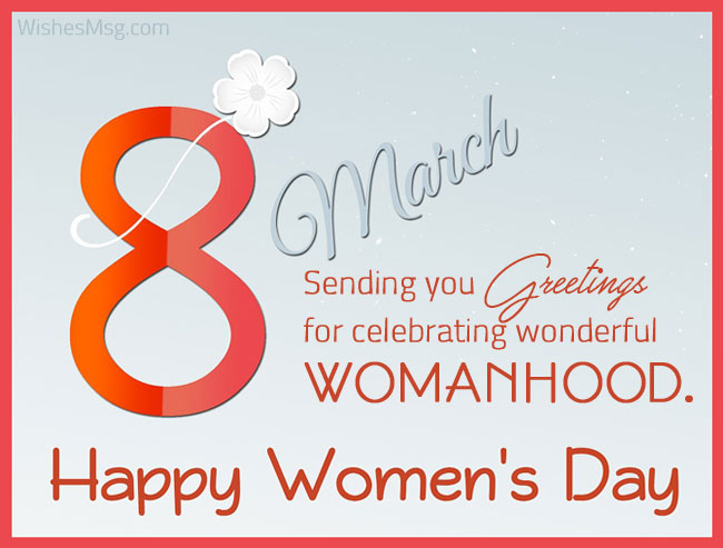 Women's Day Quotes Greetings