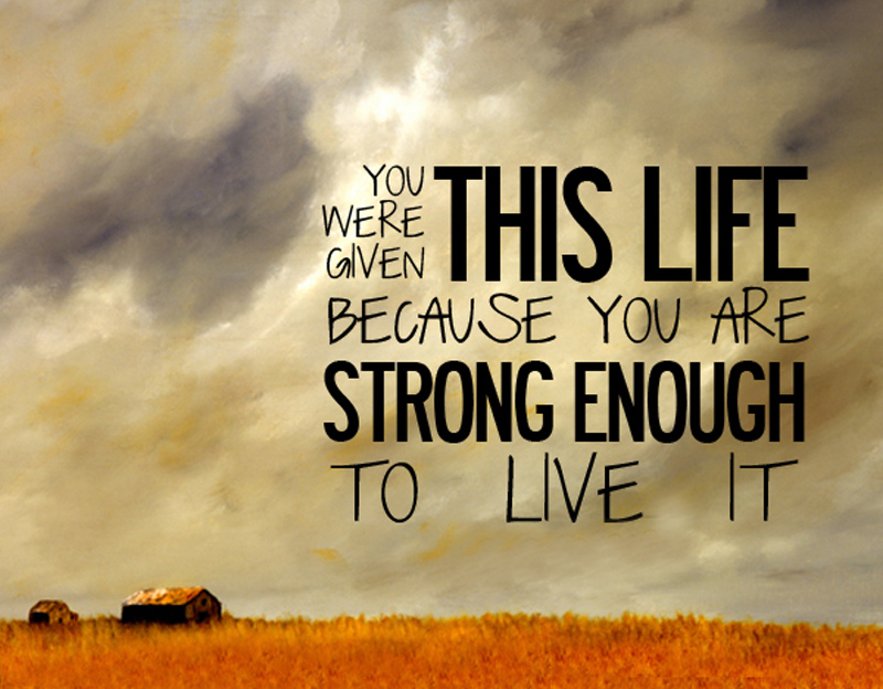 you-are-strong-enough-to-live-the-life