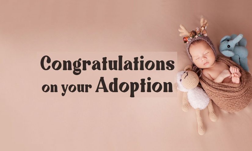 Adoption Congratulations Messages and Quotes