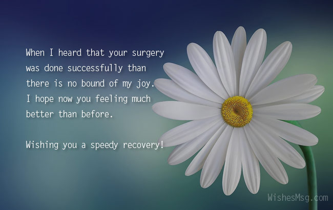after surgery wishes messages