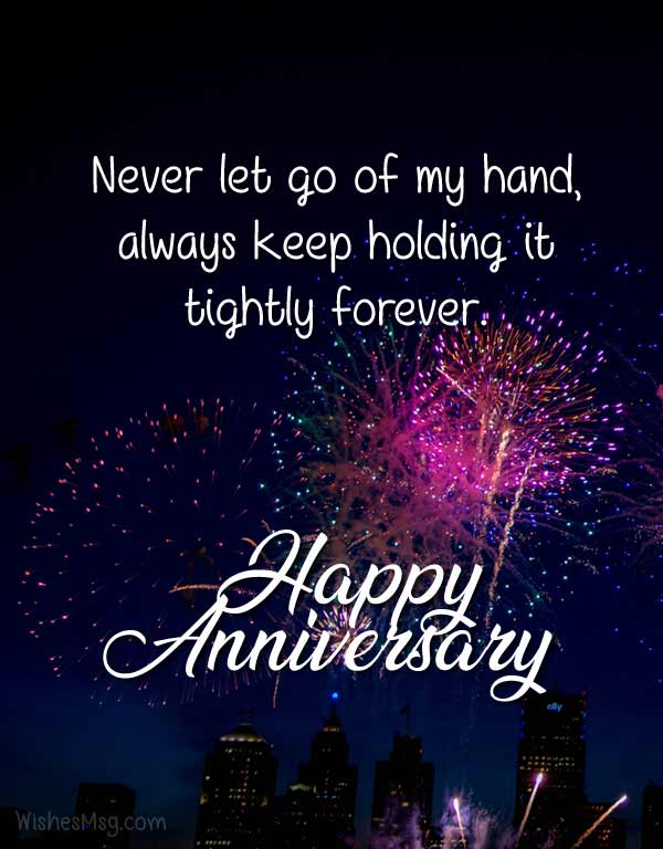 Anniversary Wishes For Boyfriend - Romantic Messages - WishesMsg
