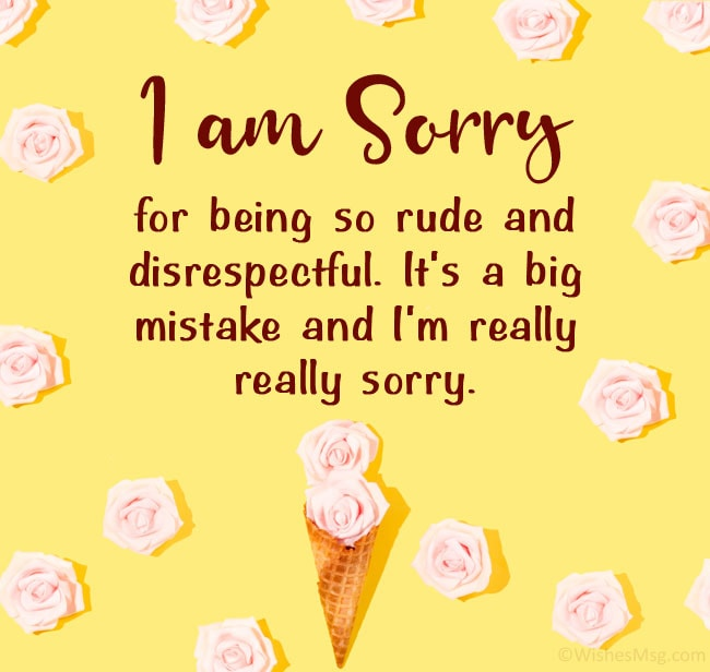apology message to dad