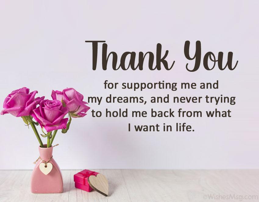 appreciation message for him