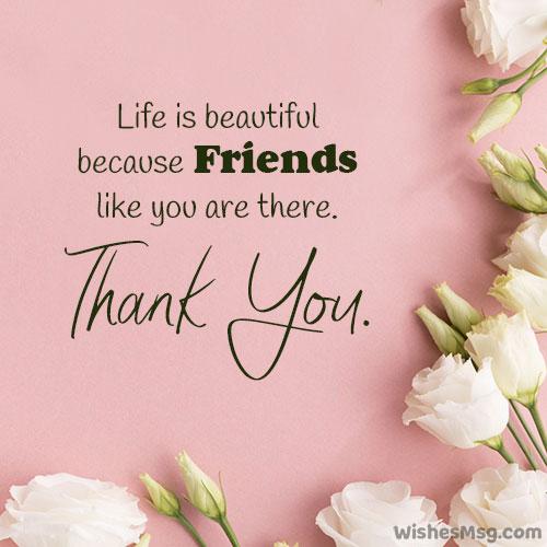 appreciation message to friend