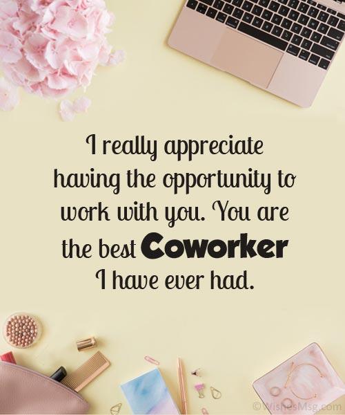 appreciation quotes for colleagues