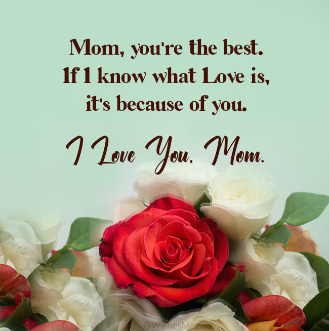 beautiful message for mother