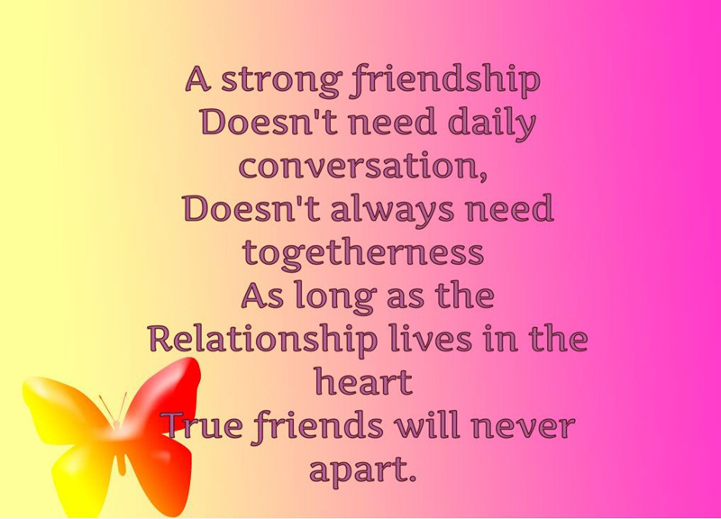 Long Quote About Friendship Awesome Best Emotional Friendship Messages And Quotes  Wishesmsg