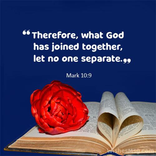 bible verse for wedding