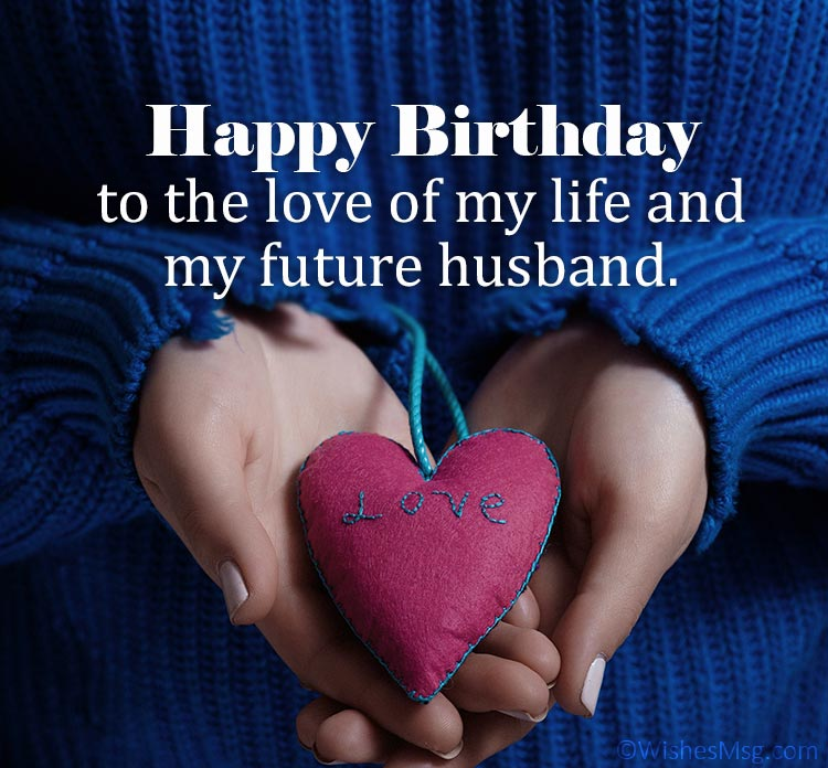 birthday messages for fiance