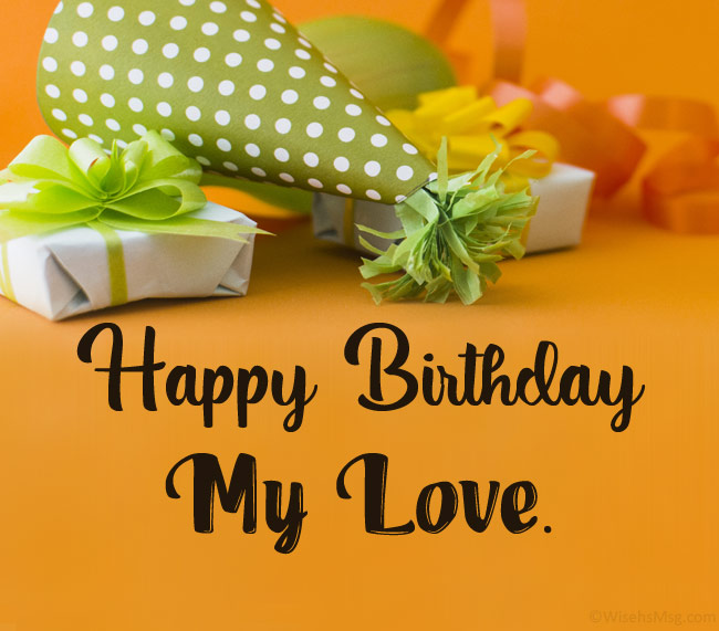To for birthday your what his boyfriend say to 42 Birthday