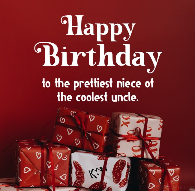 birthday wishes to niece from uncle