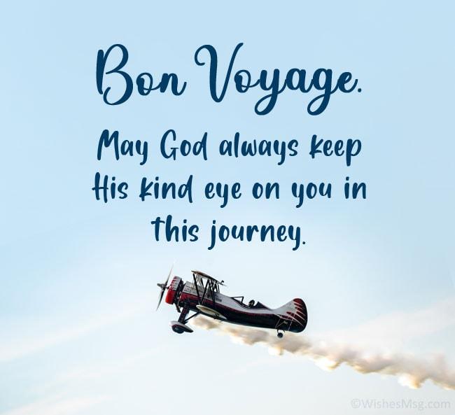 bon voyage greetings